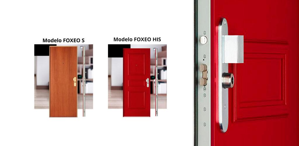 puertas acorazadas Foxeo